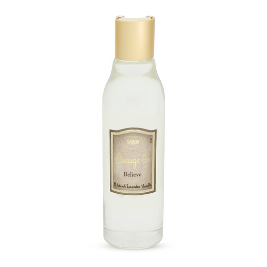 Massage Oil Patchouli Lavender Vanilla