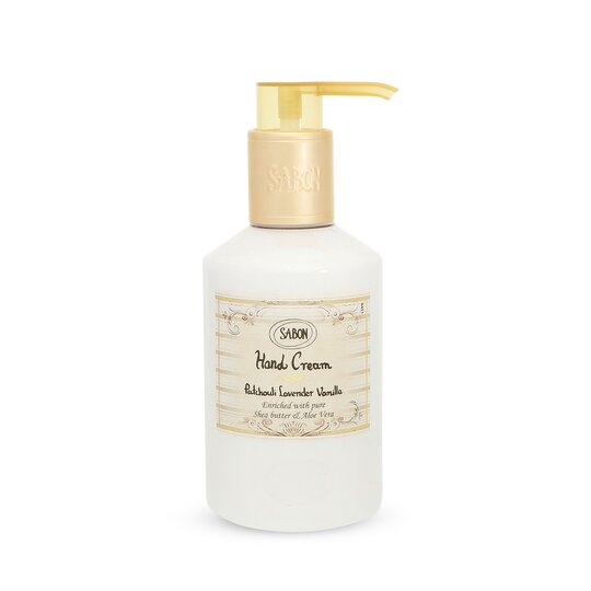 Hand Cream - Bottle Patchouli Lavender Vanilla