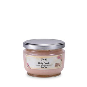 Body Scrub small Body Scrub Rose Tea