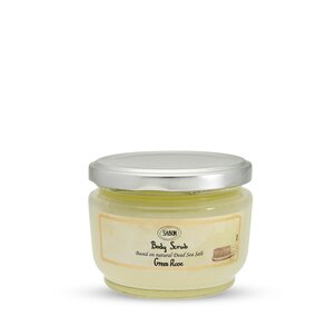 Body Scrub small Body Scrub Green Rose