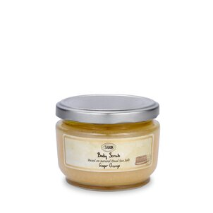 Body Scrub small Body Scrub M Ginger Orange