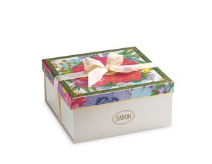 Gift Boxes Logo Box Floral Bloom - M